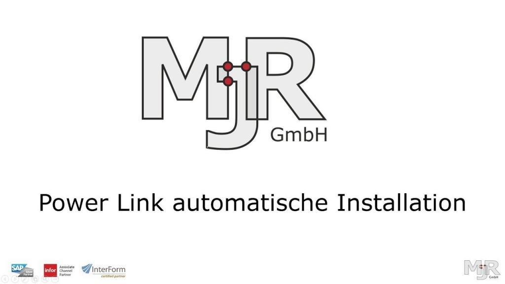 Power Link automatische Installation Video Thumbnail