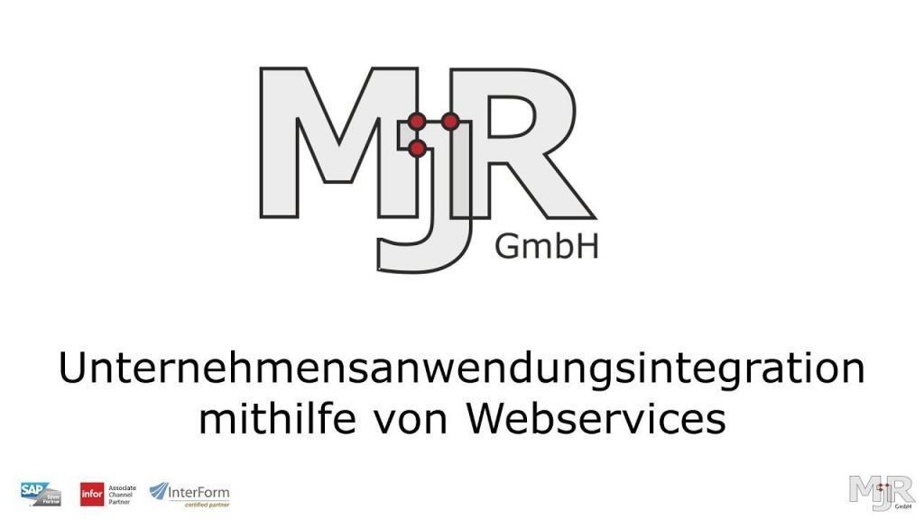 Unternehmensanwendungsintegration mithilfe von Webservices Thumbnail