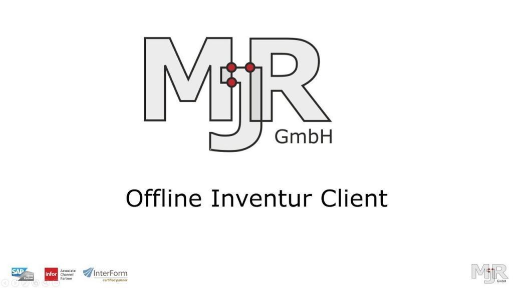 Offline-Inventur Client für die Bestandserfassung ohne Netzwerkverbindung Thumbnail