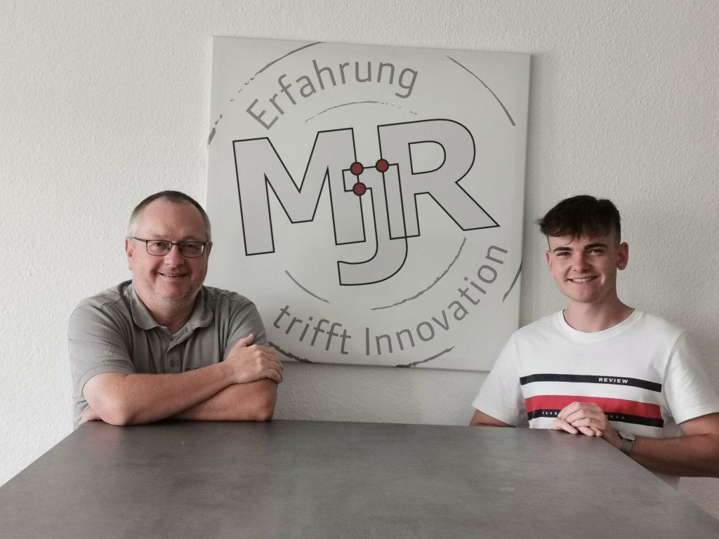 CEO Michael Raber und Fachinformatiker Steffen Sternberger