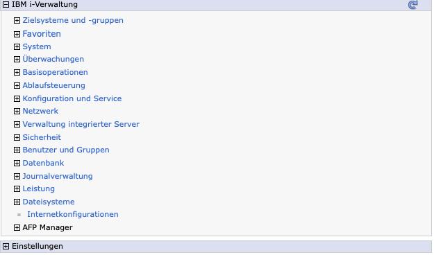 IBM Navigator für i