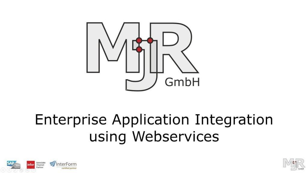 Enterprise Application Integration using Webservices Thumbnail