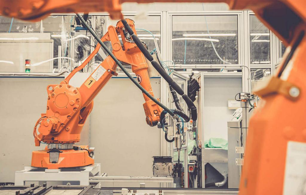 Roboter in Fertigung
