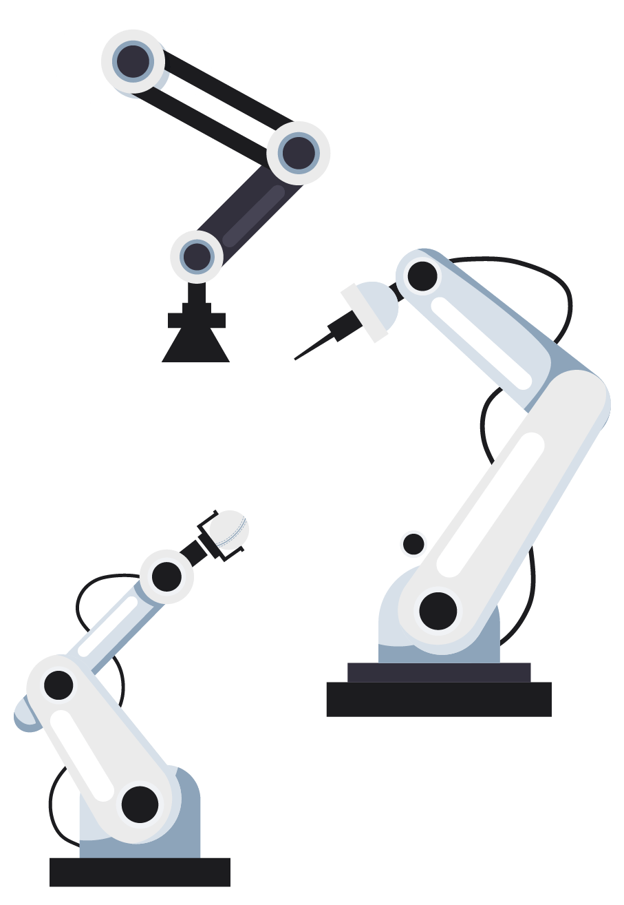 Mehrere Roboter